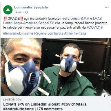 Lombardia Speciale, scrivono di noi